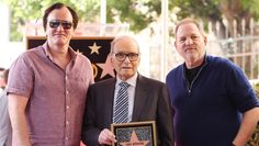 Oscar weekend is shaping up to be a big one for legendary composer Ennio Morricone, who received a star on Hollywood's Walk of Fame Feb. 26, ahead of his appearance at the Oscars as a nominee for The Hateful Eight.