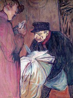 1894. Oil on cardboard. 57,8 x 46,2 cm. Musée Toulouse-Lautrec, Albi. MTL.173.
