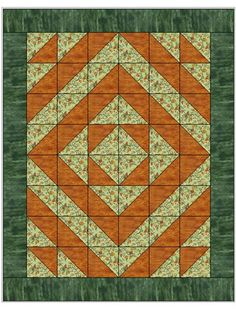 Kaleidoscope 3 Yard Quilt 090933