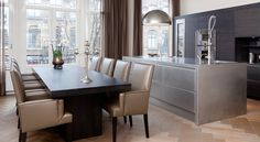 Custommade Serious Kitchen in Amsterdam designed by Marco Verheijen Keukenhuys De Tweede Kamer