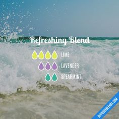 Refreshing - Essential Oil Diffuser Blend