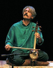 Kayhan Kalhor, my old classmate has made a name for himself. He's one of Iran's top musicians in traditional/classical category.