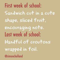 1st/last week of school