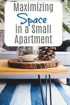How to maximize space in a small apartment and help it appear much bigger than it is Beautiful Space, Beautiful Homes, Small Apartments, Small Spaces, Amazing Transformations, Maximize Space, Small Storage, Small Homes, Home Hacks