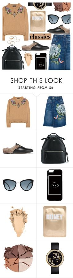 """Classics"" by sandralalala ❤ liked on Polyvore featuring Dolce&Gabbana, Gucci, Fendi, Topshop, Lapcos, lilah b., Chanel and vintage"
