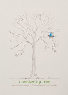 Christening Tree / Naming Day – Celebration Tree