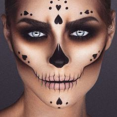 """Skull Candy"" Sugar Skull Makeup by crazy talented mua @jordanliberty"