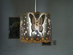 Luminaria de PVC-Mariposa
