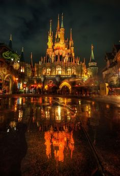 What a beautiful picture of Disneyland Paris!