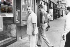 John Gotti enters the Ravenite Social Club, 247 Mulberry St.