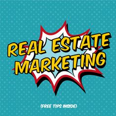 Real Estate Marketing Tips | Smart Marketing Tips and Much More... Click to Read All | Resources for Real Estate Agents