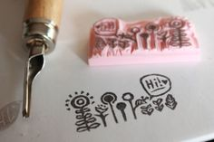 January snailmail: Stationery stamps 5 by creating_impossible_gardens, via Flickr
