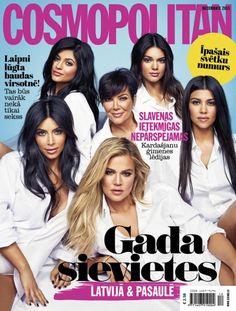November 2015 The Kardashian/Jenners Kardashian Photos, Kardashian Jenner, Kourtney Kardashian, Kris Jenner, Kendall Jenner, Kylie, Cosmopolitan Magazine, Costco, Easy Workouts