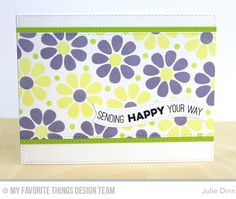 Build-able Blooms, Totally Happy, Blueprints 23 Die-namics, Blueprints 25 Die-namics - Julie Dinn  #mftstamps