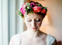 Bride by Rachael McIntosh Photography at The Biltmore Estate. Flowers by The Bloom Room, Asheville NC.