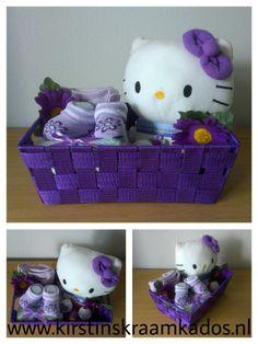 Kraammand Hello Kitty paars