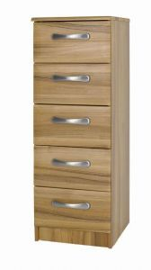 Tipolo 5 Drawer Narrow Chest