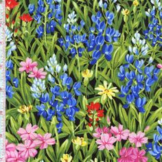 Wildflowers VI by Sentimental Studios for Moda ~ Realistic floral prints transport you to a warm meadow in full bloom! Follow this pin to the Fabric Shack to see the entire collection!