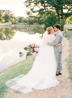 Cheerful summertime wedding: Photography: Lauren Peele - http://www.laurenpeelephotography.com/