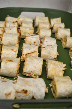 Chicken Enchilada Roll Ups - one of the most yummy appetizers I have made yet!