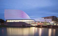 A closer look at UNStudio's new Theatre de Stoep in Spijkenisse, The Netherlands | Photo © Jan Paul Mioulet | Bustler