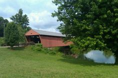 Milton Covered Bridge, West Virginia