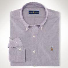Solid Oxford Sport Shirt - Polo Ralph Lauren Standard-Fit - RalphLauren.com