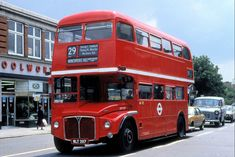 "The No 29 - iconic bus route as it's the one I took into ""town"". Local History, Family History, Enfield Middlesex, Routemaster, Bus Route, Red Bus, Bus Coach, London Bus, London Transport"