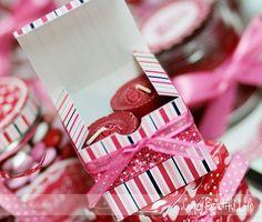 Valentine's Favor Box - Scrapbook.com