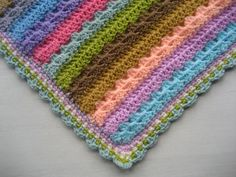 Choosing the right sort of edging can completely transform a crochet blanket and even a very simple pattern can often change the way a…