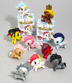 Imagine My Little Pony, but with the Japanese-inspired style of tokidoki.