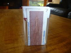 Tic Tac match storage, waterproof and non crushable. No more soggy matches. Great for camping!