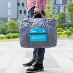 Ma/_rs/_hmello Large Capacity Portable Luggage Bag Travel Lightweight Waterproof Storage Carry Luggage Duffel Tote Bag