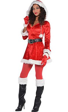 Santa Suits - Santa Costumes & Outfits for Adults & Kids - Party City