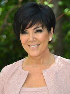 Kris+Jenner+Back+Of+Hairstyles   More Pics of Kris Jenner Short cut with bangs (4 of 24) - Kris Jenner ...