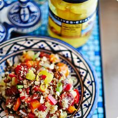 Check out this Olives Et Al Moroccan Quinoa Salad recipe