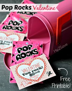 Free Pop Rocks Valentine Printable Hip2Save