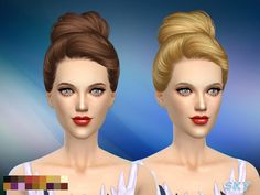 female hair adult  Found in TSR Category 'Sims 4 Female Hairstyles'