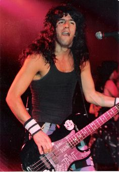 Frank Bello of Anthrax - 1988