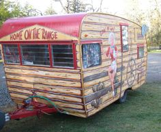 I would LOVE LOVE LOVE to find a 50-60's Shasta Camper and restore it! Aren't these cute?