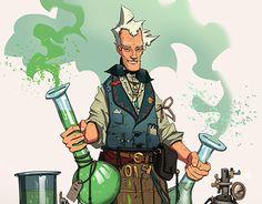 "Check out new work on my @Behance portfolio: ""Alchemist"" http://be.net/gallery/54174155/Alchemist"