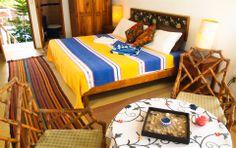 room La Torre @ Hotel Gilda, Barra de Cocuya/Acapulco (Guerrero), Mexico