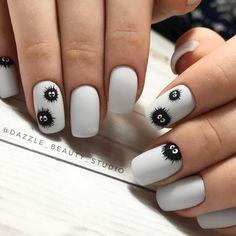nail art designs 2019 nail designs for short nails 2019 holiday nail stickers nail art stickers how to apply nail art stickers online Nail Manicure, Diy Nails, Swag Nails, Nail Polish, Cute Nail Art, Cute Nails, Pretty Nails, Diy Ongles, Anime Nails