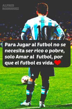Amo el fútbol...