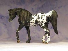 Custom CM Breyer Stablemate Horse G3 Arabian to Arab x Appy cross x L. Elkjer