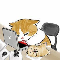 Kitten Drawing, Gato Anime, Cute Panda Wallpaper, Cute Emo Boys, Snoopy Pictures, Cute Little Kittens, Panda Wallpapers, Pusheen Cat, Dibujos Cute
