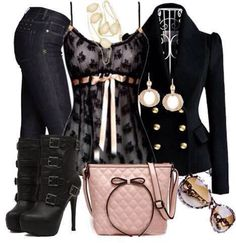 Lace Cami Outfit