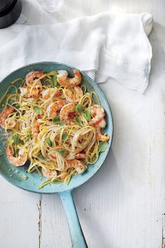 Your family will love the fresh flavors of shrimp tacos, fish po'boys, grilled Greek snapper, and more. Whip up one of these recipes for dinner tonight. Seafood Pasta Recipes, Fish Recipes, Easy Shrimp Scampi, Easy Summer Dinners, Salad With Sweet Potato, Seafood Dinner, Supper Recipes, Southern Recipes, The Fresh