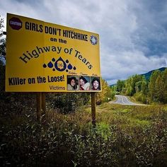Highway of Tears Murders | 19 Unsolved Crimes That'll Scare The Hell Out Of You