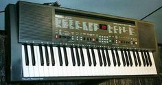 reminds me of the family keyboard and how I spent time exploring genres or instruments in different keys